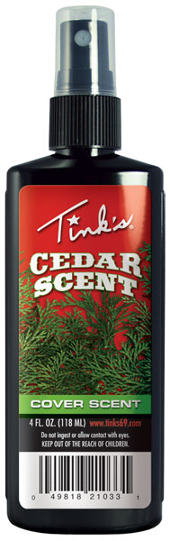 Tinks Cedar Cover Scent 4oz.