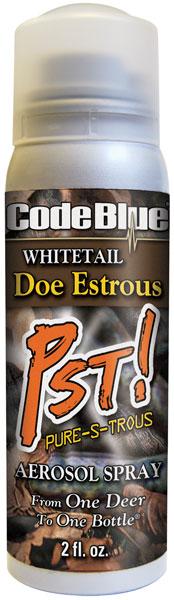 Code Blue OA1126 Whitetail Aerosol Spray Scent Deer 2 fl oz