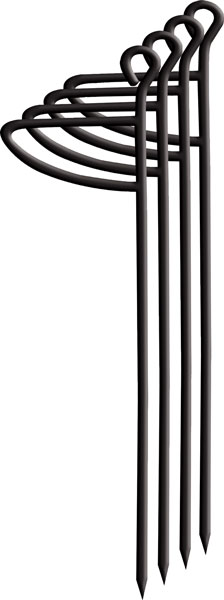 Primos PS60086 Ground Blind Stakes Blind Stakes