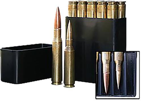 MTM BMG10-40 50 BMG Slip-Top Ammo Box 10 rd Polypropylene Black