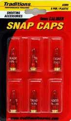 Traditions ASM9 Snap Caps 9mm Plastic w|Brass Base 5 Pack
