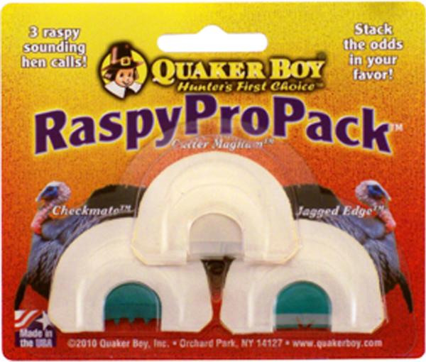 Quaker Boy RASPY Pro Pack DIA 3-PACK