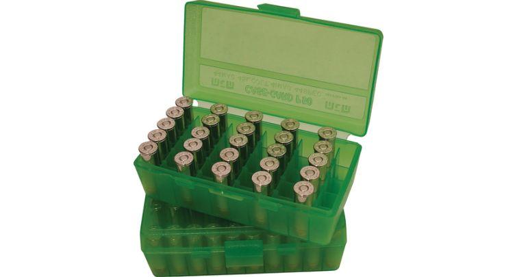 MTM P50-44-16 Pistol Ammo Box 50rd