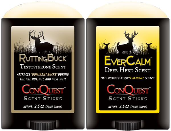 Conquest Scents Deer Scent RutTING Black Pack