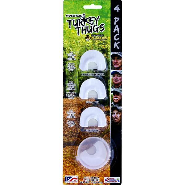 Quaker Boy DIAPH Turkey THUG 4-PACK