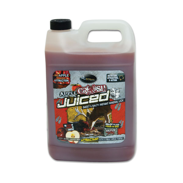Wildgame Innovations Apple CRUSH Juiced Deer Attractant - 1 Gallon