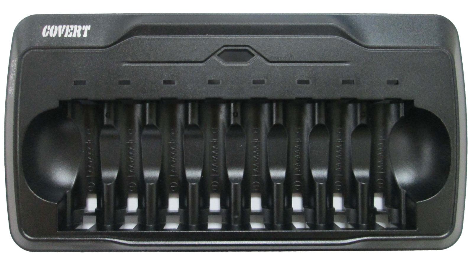 Covert 2717 8 AA Battery Rapid