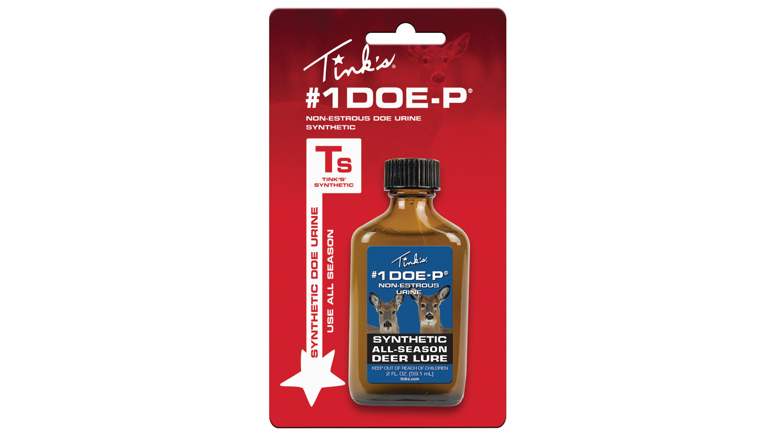 Tinks #1 DOE-P SYNTHETIC 2 OZ
