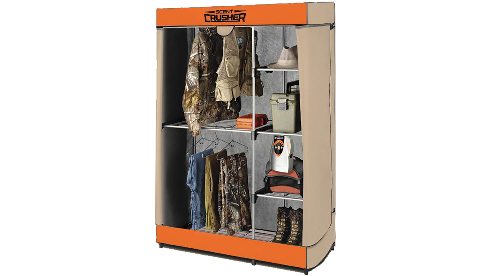Scent Crusher FLEX HUNTER CLOSET WITH