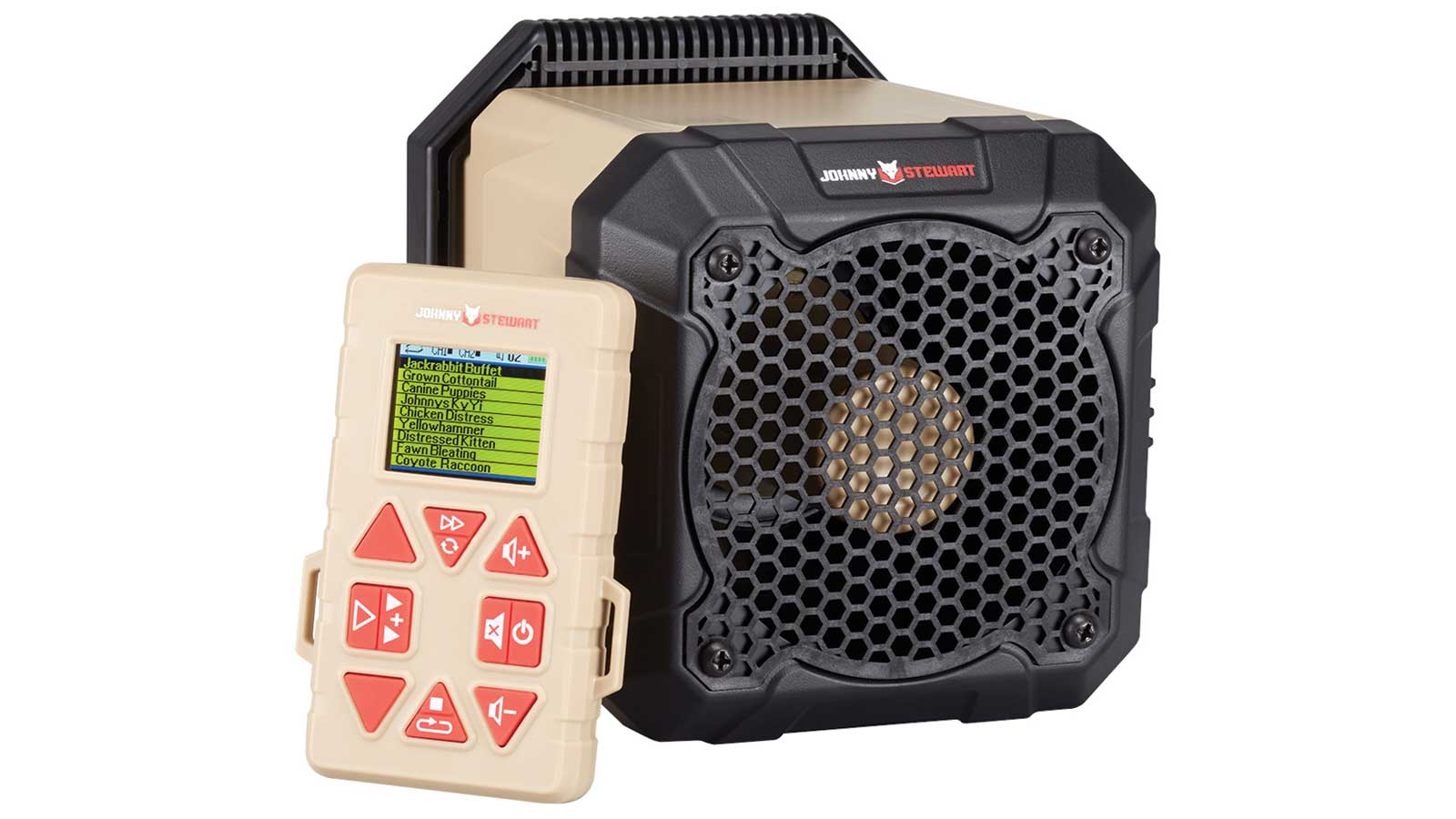 Hunters Specialties GS2 GRIM Speaker 10 Sounds Black|Tan