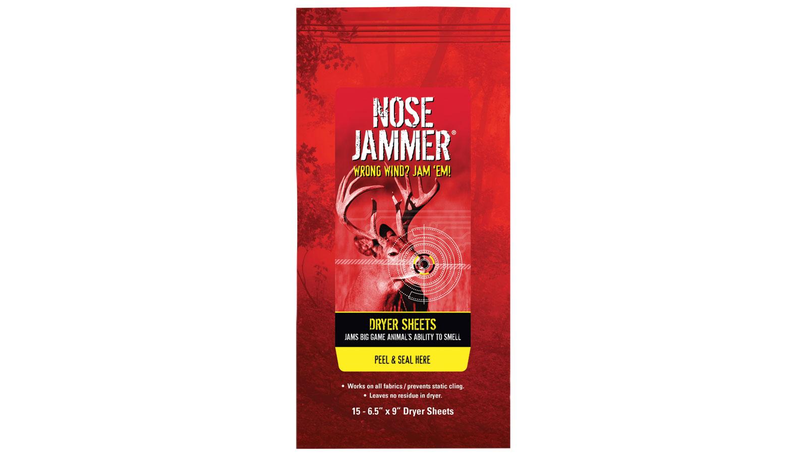 Nose Jammer 3168 Dryer Sheets