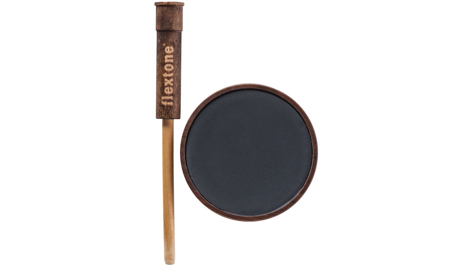 flextone Ol' Faithful Slate Friction Turkey Call - Walnut Pot|Slate