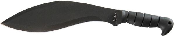 Ka-Bar 1249 Kukri Machete 11.5 SK5 Kukri Thermoplastic Rubber Black in.