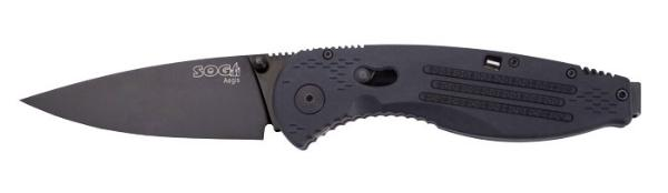 SOG Specialty Knives - Black TiNi - Clam Pack