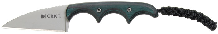 Columbia River 2385 Folts Fixed 5Cr15MoV Wharncliffe Blade Green| Black