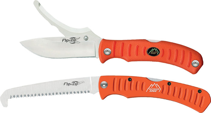 Outdoor Edge Flip-N-BLAZE Saw Combo