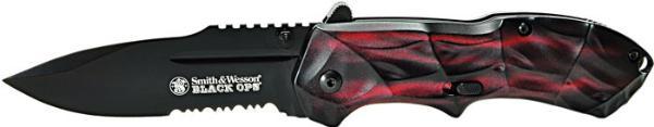 SW Knife SWBLOP3RS Blackops Red SERR