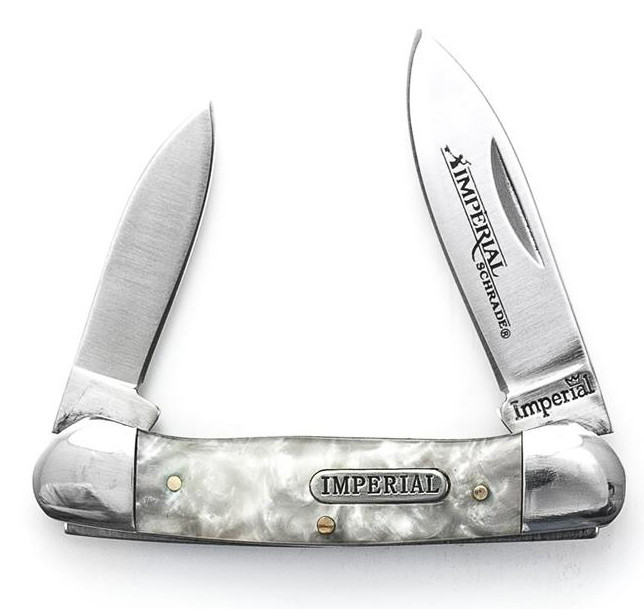 Schrade Imperial Cracked Ice Small Canoe