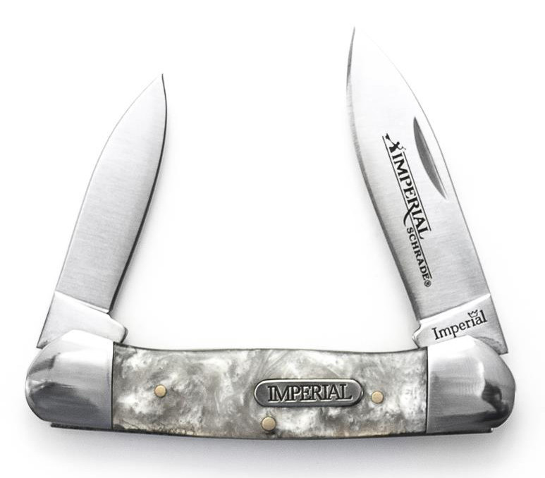 Schrade Imperial Cracked Ice Large Canoe
