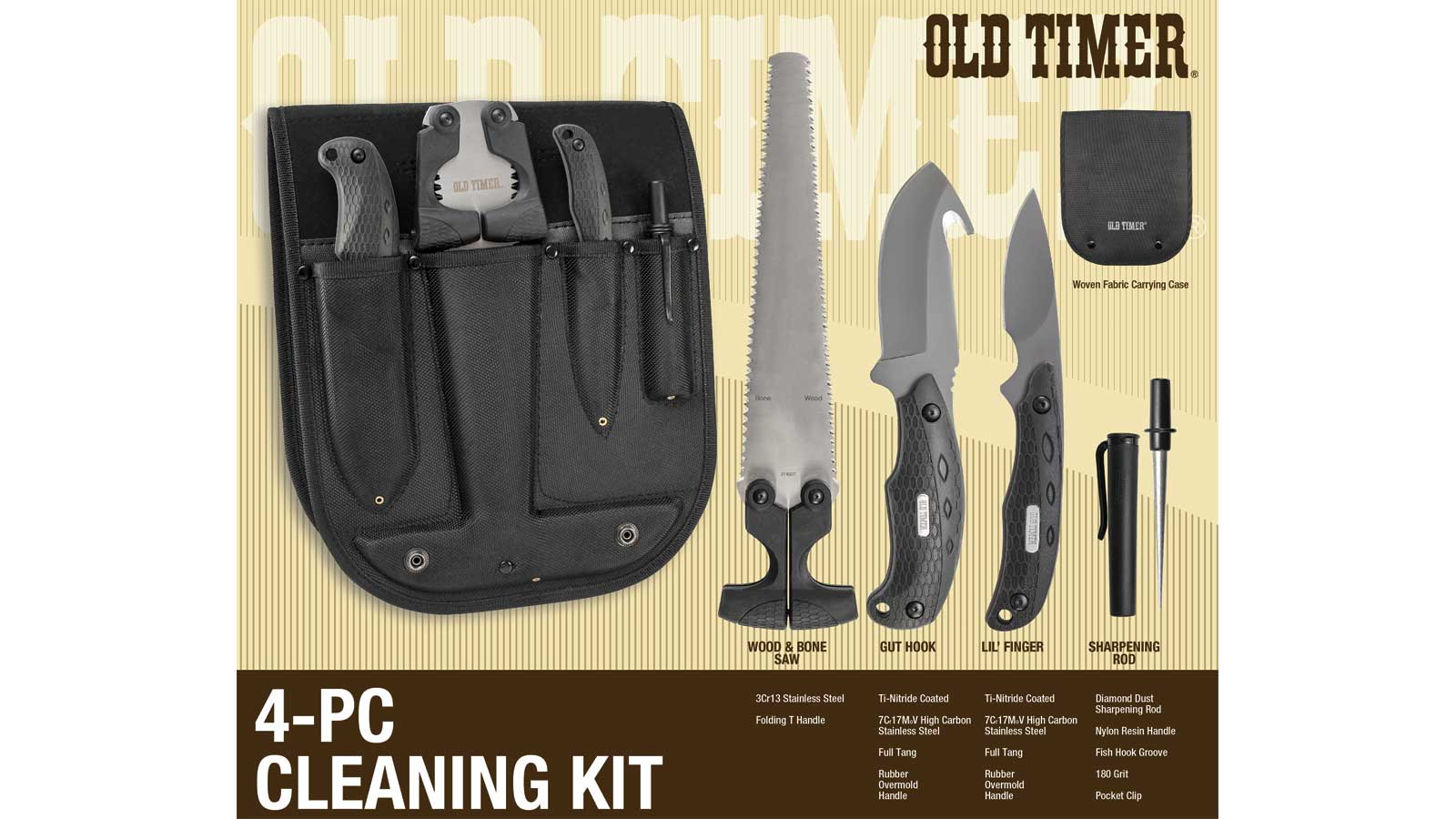 Smith and Wesson OT CLEANING KIT Q3