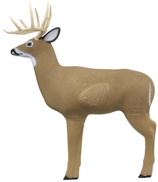 Field Logic Black Shooter Buck 3D Target