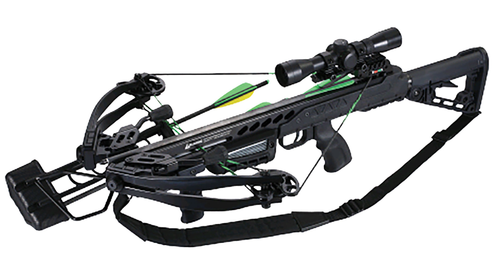 SA Sports Empire Aggressor Crossbow Package, Black