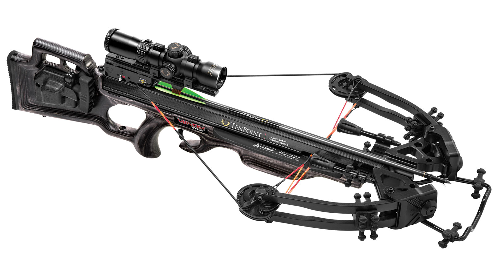 TenPoint Crossbow Technologies CB16001-8411 Venom Xtra Package ACUdraw 50