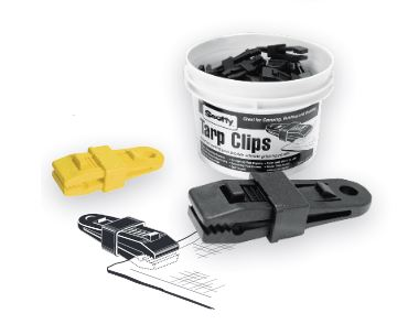 Scotty BLACK TARPCLIPS-BUCKET