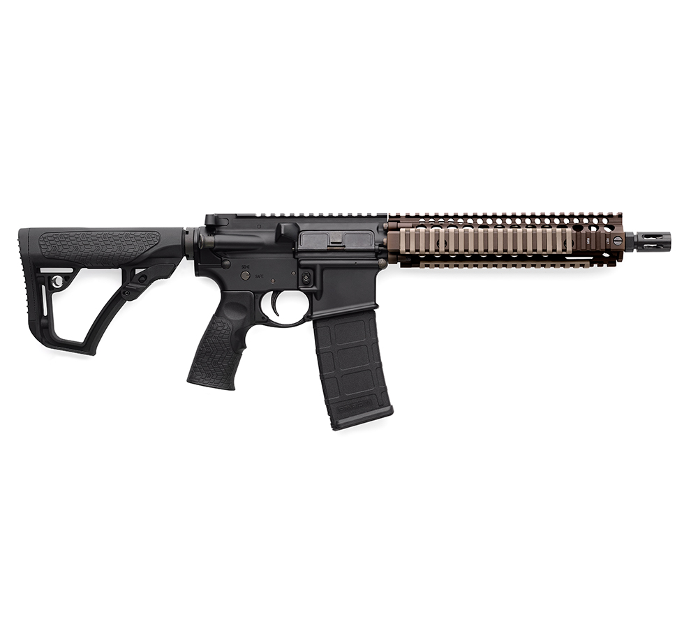 Daniel Defense DDM4 MK18 Matte 5.56   .223 Rem 10.3-inch 30Rds