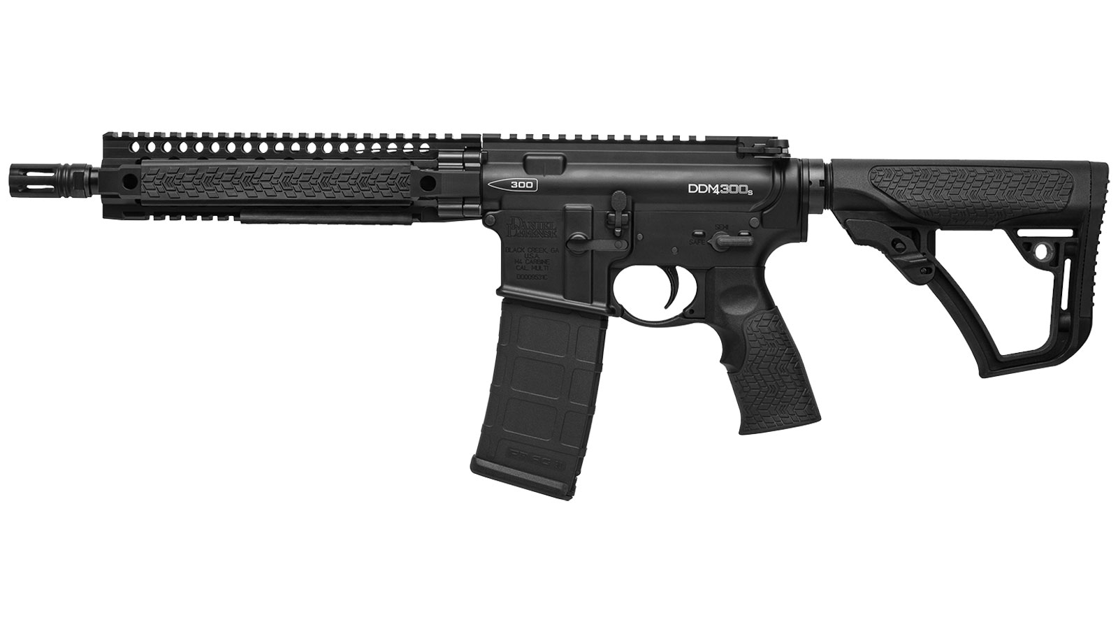 Daniel Defense DDM4 300S Black 300 AAC 10.3-Inch 30RD SHORT BARRELED RIFLE