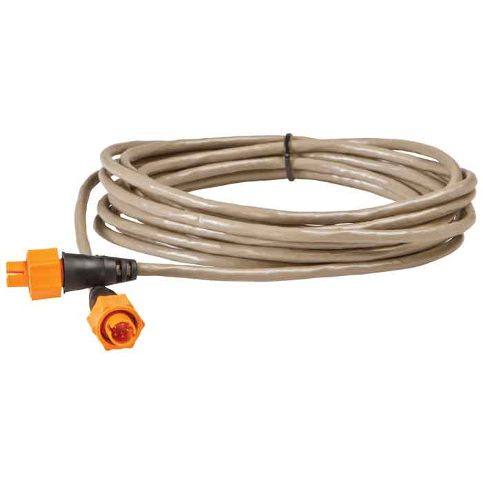 Lowrance 25 ft Ethernet Crossover Cable Gray - Boats|Motors|Marine Electronics, Marine Electronics And Radios at Academy Sports Gray (532059) - Boats|Motors|...