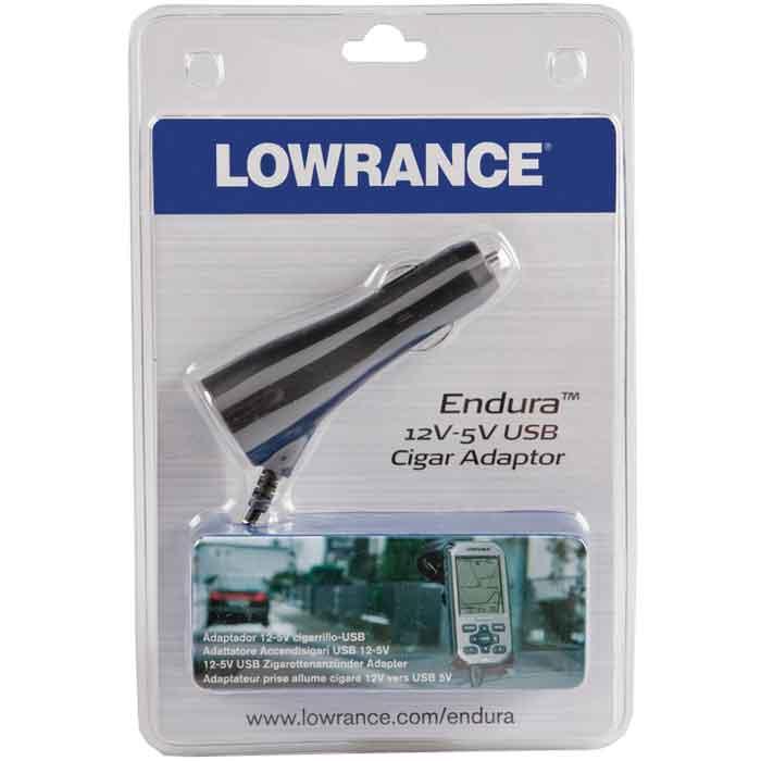Lowrance Endura Cigarette Lighter Power Cable