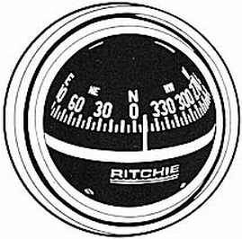 Ritchie V-57.2 Black Compass