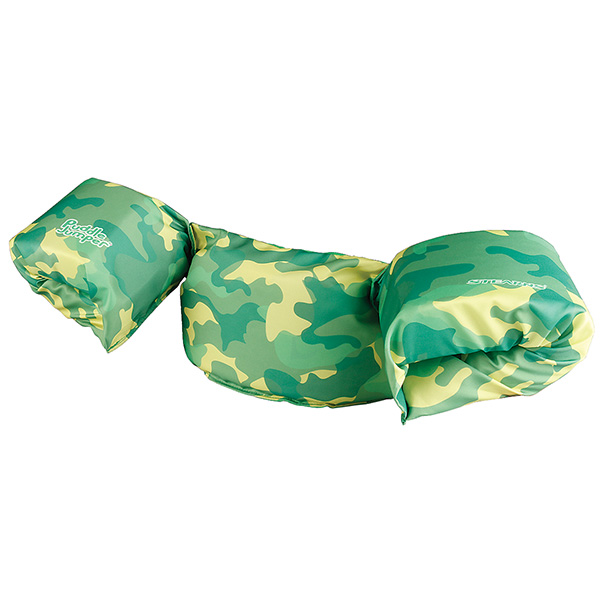 Stearns 3000004635 Puddle Jumper Deluxe Life Jacket Green Camo