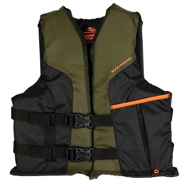 Stearns 2000013810 PFD 4120 Sport Vest Youth Green
