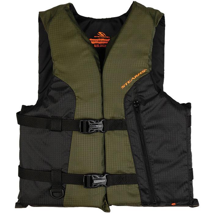 Stearns Sportsman's Life Vest| Oversized| Green