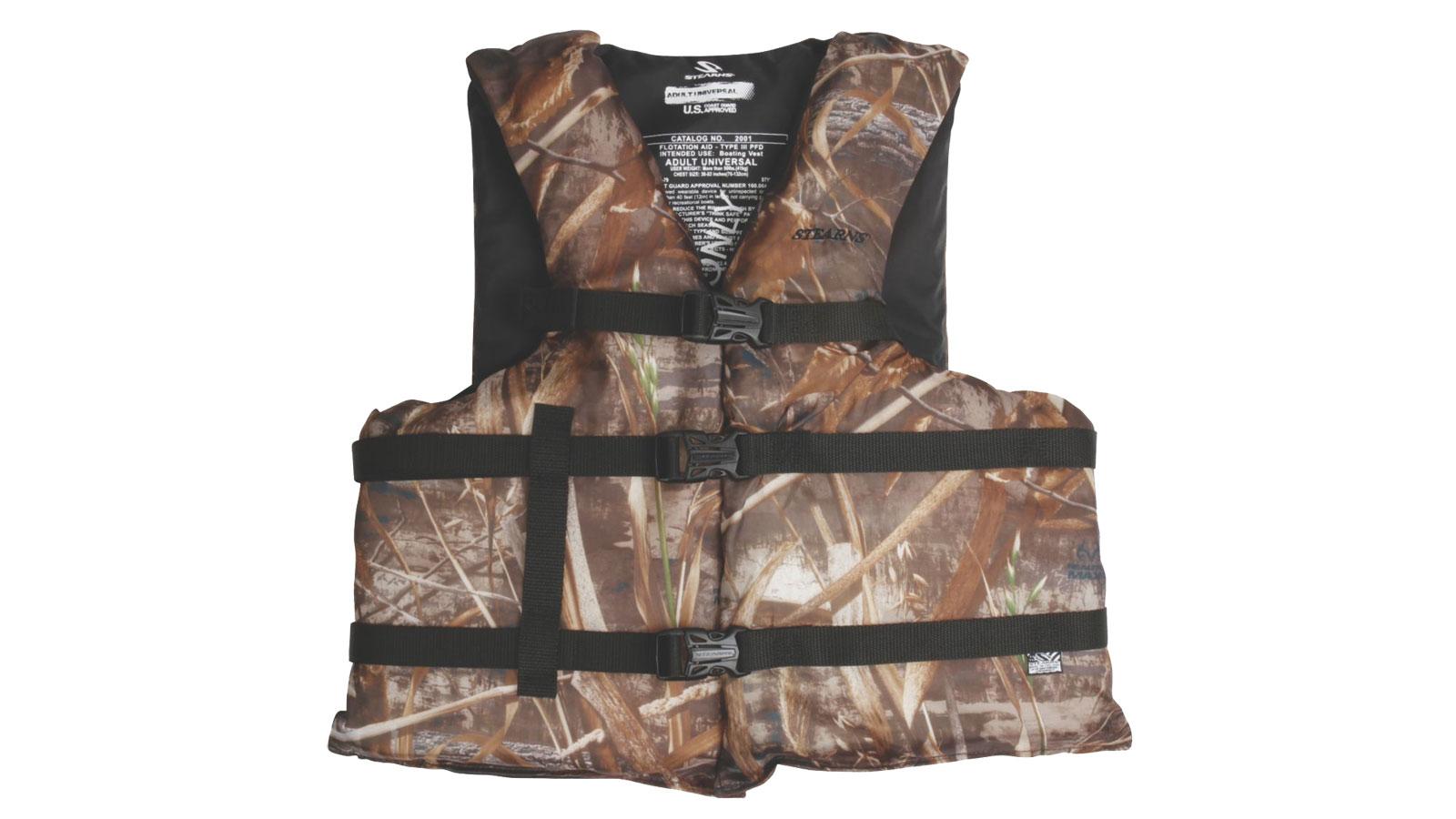 Stearns Adult Boating Oversized Max 5 Vest