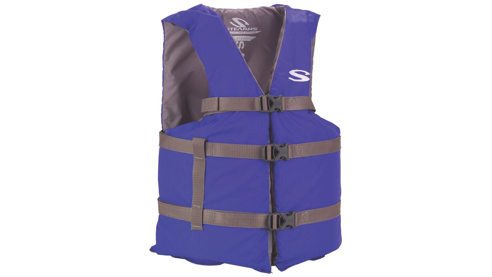Stearns Adult Boating Universal Vest Blue