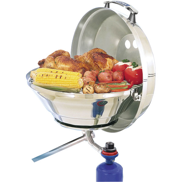 Magma Marine Kettle Gas Grill Original 15 in.  w|Hinged Lid