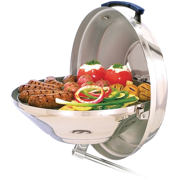 Magma Marine Kettle Charcoal Grill w Hinged Lid