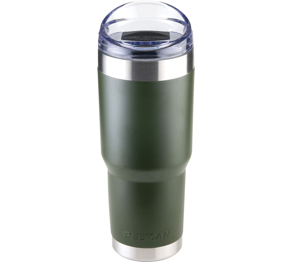 Pelican Traveler Tumbler OD Green 32 Oz Slide Lid