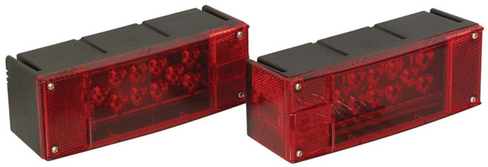 Optronics Waterproof LED Trailer|Taillights Kit - Red