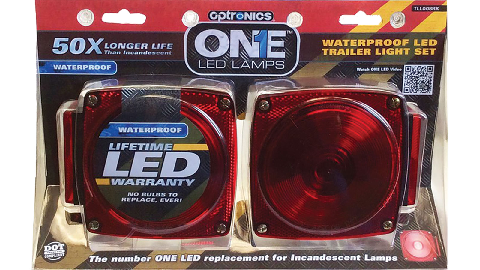 Optronics ONE LED Trailer Lights 2-Pack - Marine Supplies, Trailer Parts And Accessories at Academy Sports