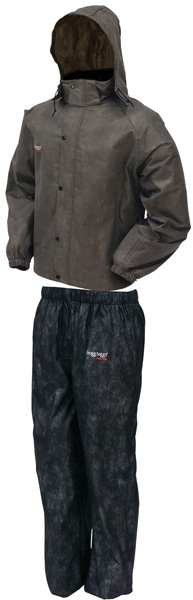 Frogg Toggs All Sport Rain Suit, Stone/ Black, MD AS1310-105MD