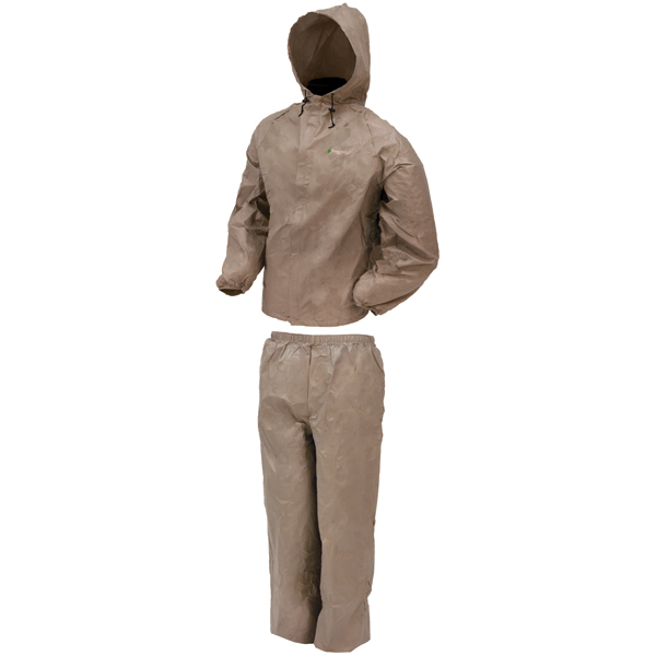 Frogg Toggs Rain Suit w/Stuff Sack 2X-Kh