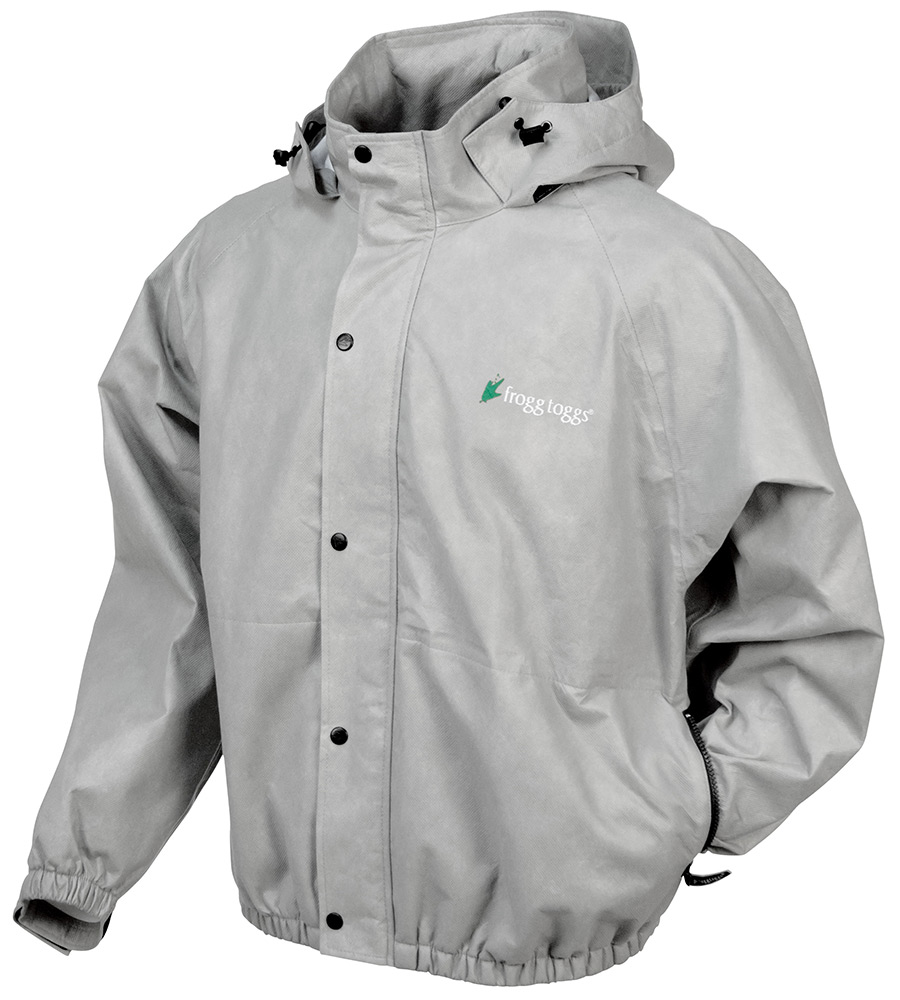 Frogg Toggs Classic Pro Action Rain Jacket for Men - Cloud - S