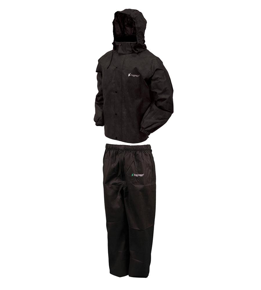 Frogg Toggs All Sport Suit Black Medium