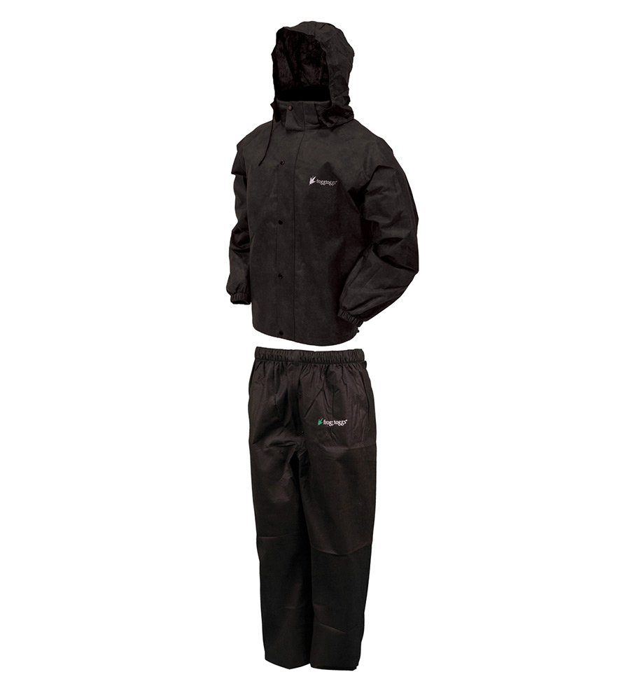 Frogg Toggs All Sport Suit Black X-Large
