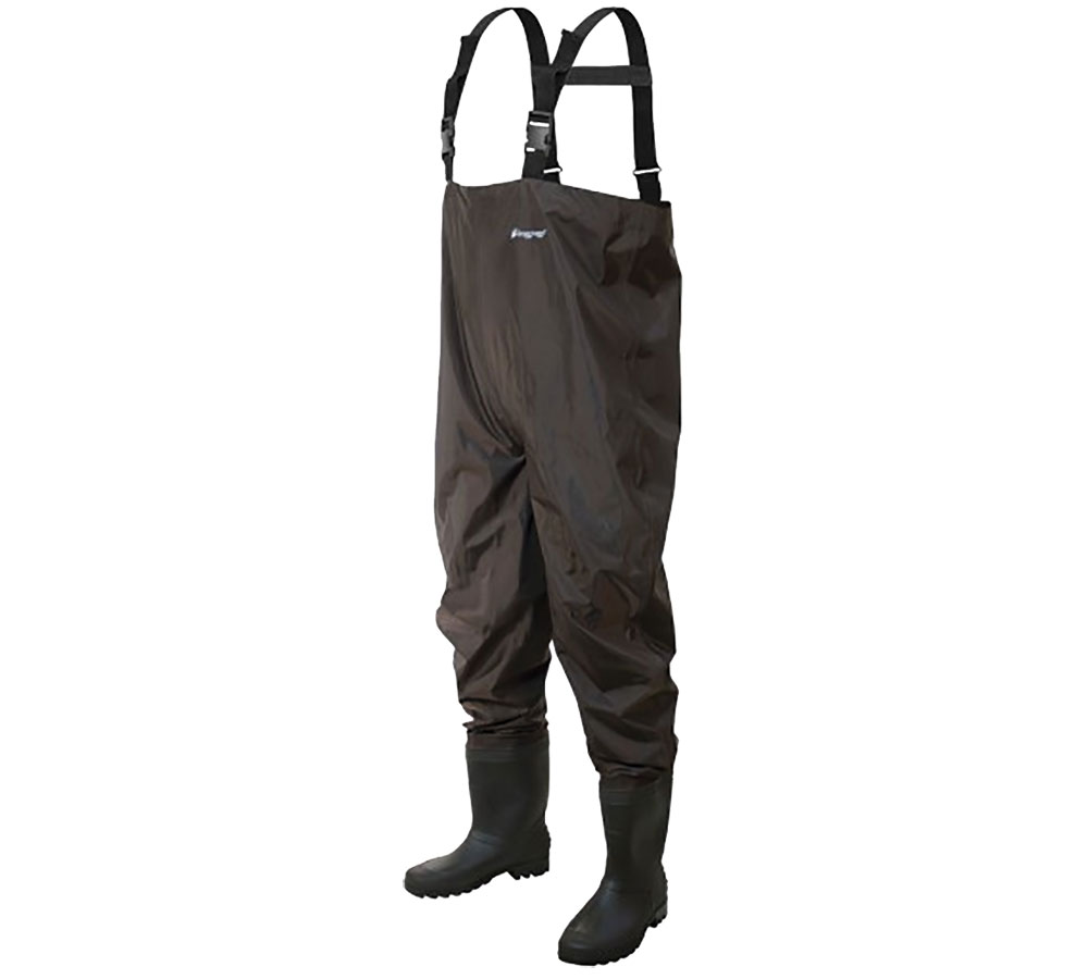 Frogg Toggs Men's Rana II PVC Chest Wader Dark Brown - Fishing Equipment, Waders at Academy Sports
