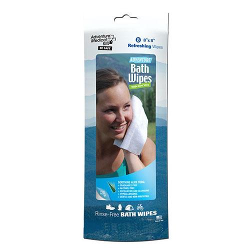 Adventure Medical Kits 0170-0306 Adventure Bath Wipes, Per 8